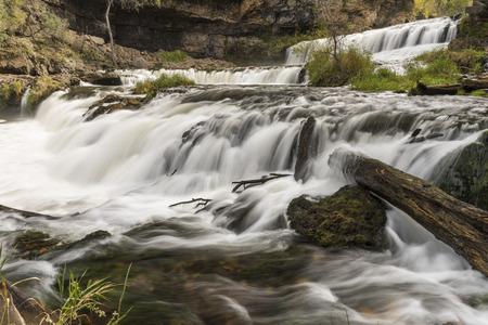 Willow River Waterfall 免版税图像