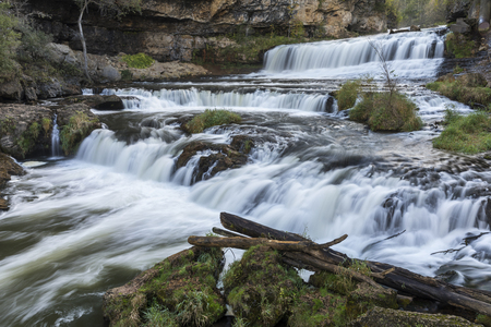 Willow River Waterfall Stock Photo