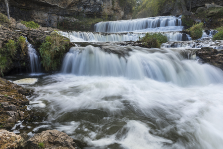 Willow River Waterfall Stock Photo