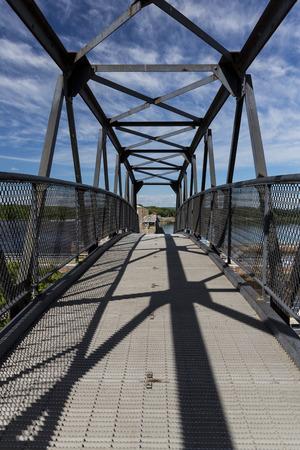 Footbridge To Dam