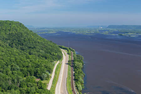 Mississippi River Scenic View