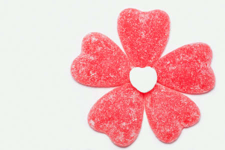 Jelly Candy Heart Flower