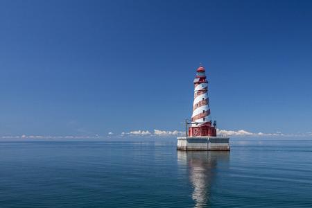 White Shoal Lighthouse Reklamní fotografie