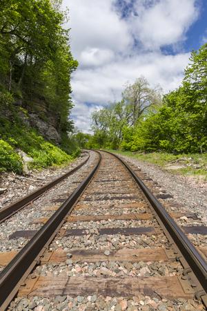 Railroad Track Scenic Landscape