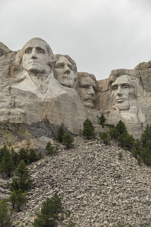 American Presidents on Mt. Rushmore