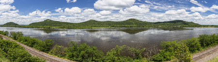 Mississippi River Scenic Panoramic