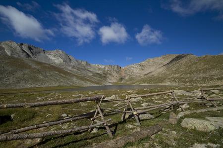 Colorado Summit Lake Scenic Landscape 版權商用圖片