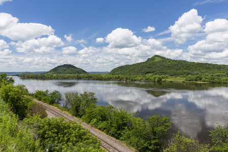 Mississippi River Scenic Landscape