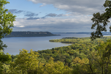 Mississippi River Lake Pepin Scenic View
