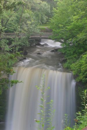 Minneopa Falls Waterfall