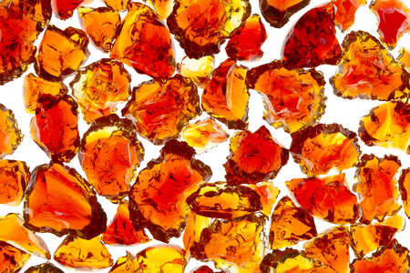 Translucent Broken Glass Marble Pieces