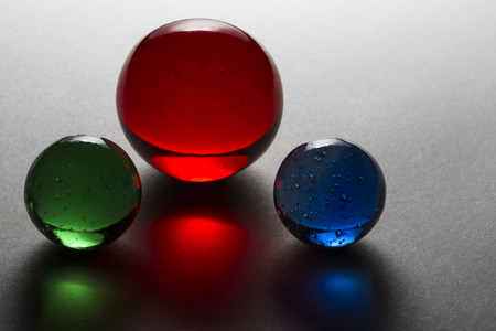 Red, Blue, and Green Marbles