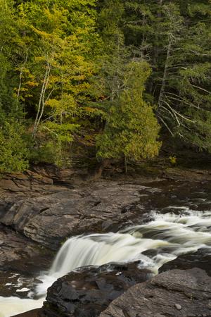 Manido Falls Waterfall 版權商用圖片