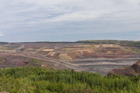 Open Pit Taconite Mine Scenic View
