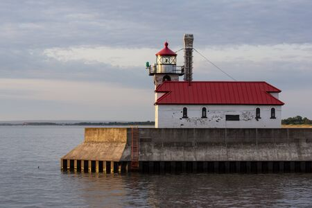 Duluth South Breakwater Lighthouse On Lake Superior