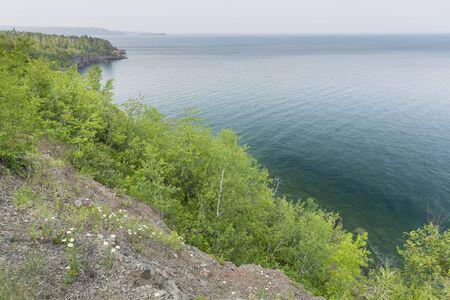 A Scenic Lake Superior Landscape