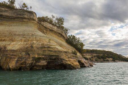 Lake Superior Cliff Scenic Landscape