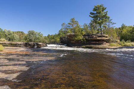 Big Spring Falls In Minnesota Stock fotó
