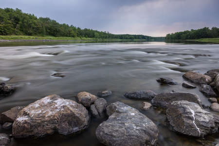 Rainy River - A scenic river on the United States and Canadian border.