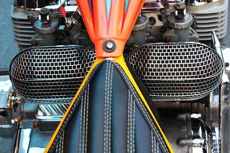 Parts of a modern big bike