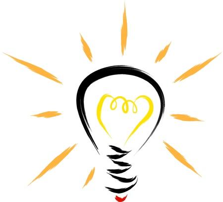 id�e lumineuse: ampoule
