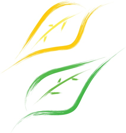 manos logo: la hoja de estilo pincel de dibujo