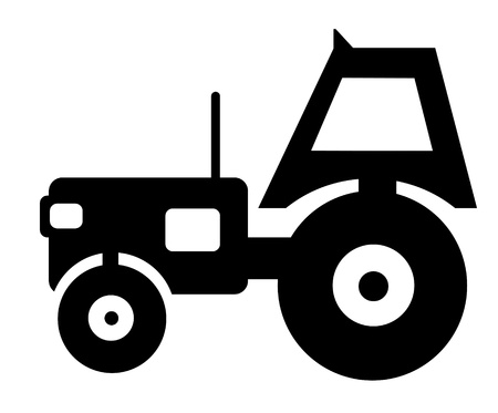 classic vintage tractor sketch Stock Photo - 13476812