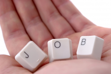 looking for a job, concept
