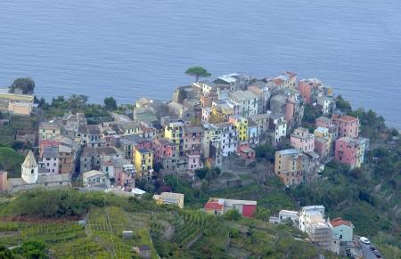 Village of Corniglia in Cinque Terre, Italy  photo
