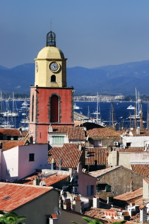the bay of Saint Tropez, France Stock Photo - 15632509