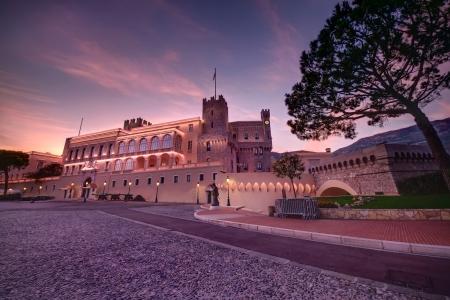 monte carlo: sunset at Prince