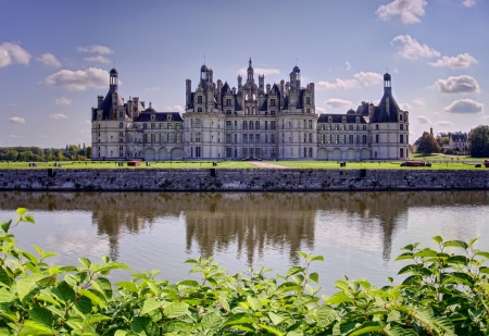 chateau: Chambord, the biggest french medieval castle