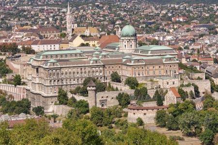 buda: Ch�teau de Buda Palais Royal � Budapest, Hongrie