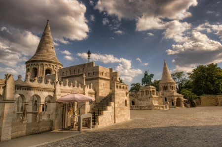 schulek: Fishermen s bastion in Budapest, Hungary
