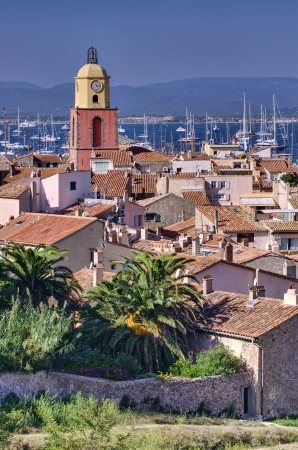Saint Tropez, French Riviera beautiful cityscape photo