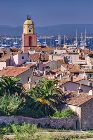 Saint Tropez, French Riviera beautiful cityscape Stock Photo - 15677164