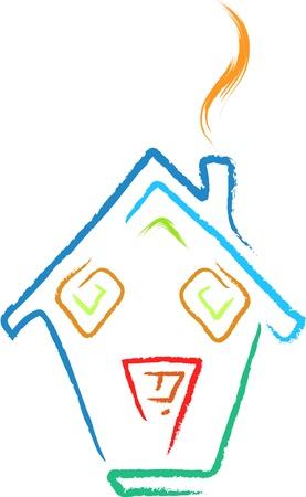 shelter: doodle house sketch