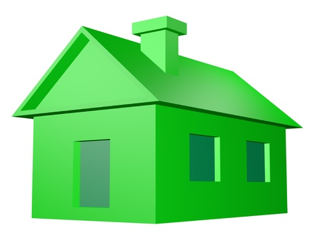 foreclosure: green house render