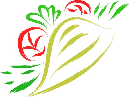 taco: mexican taco fast food vector illustration