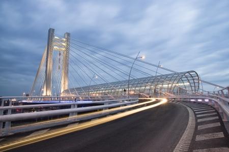 bucarest: Basarab pont, Bucarest, Roumanie
