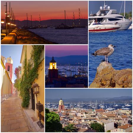 collection of Saint Tropez France photos photo