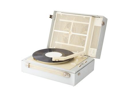 retro vinyl record player photo