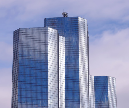 mirrored: office building