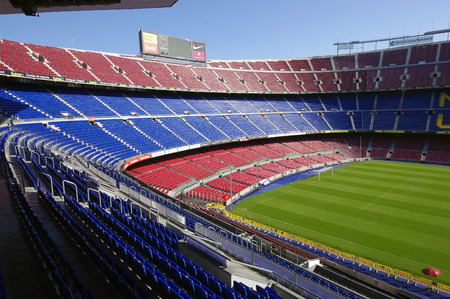 Camp Nou stadium, Barcelona, Spain 新聞圖片