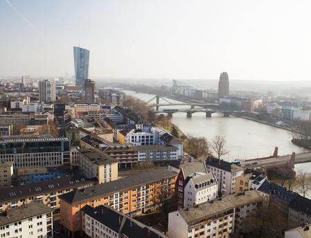 loc: Frankfurt city and river Main, Germany