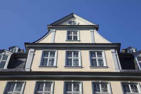 am: famous Goethe house in Frankfurt am Main Germany