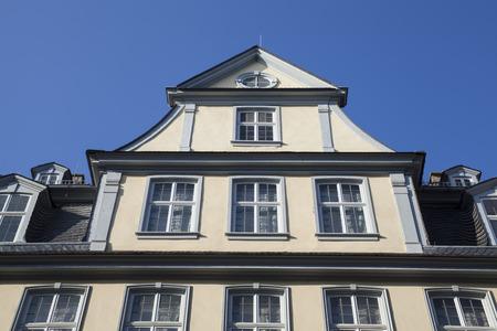 famous Goethe house in Frankfurt am Main Germany