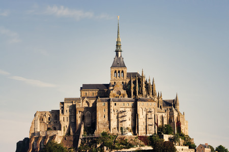 saints: Mont Saint Michel castle