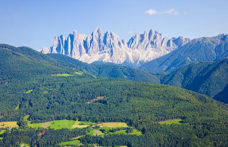 odle: Dolomites alps mountain