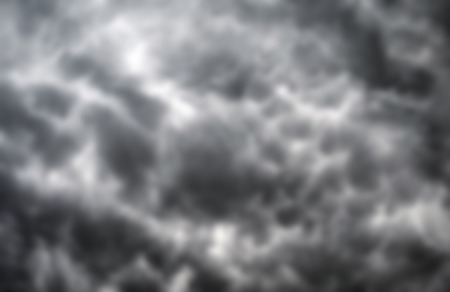 storm background: blurred sky background of storm clouds Stock Photo